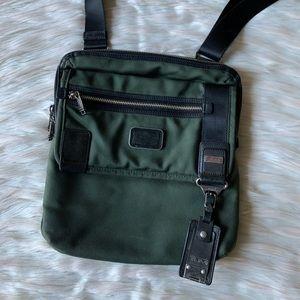 Tumi Alpha Bravo Annapolis Messenger Bag